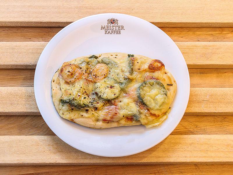 Pizzafladen Gemüse