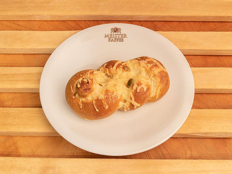Laugenzopf Schinken-Käse