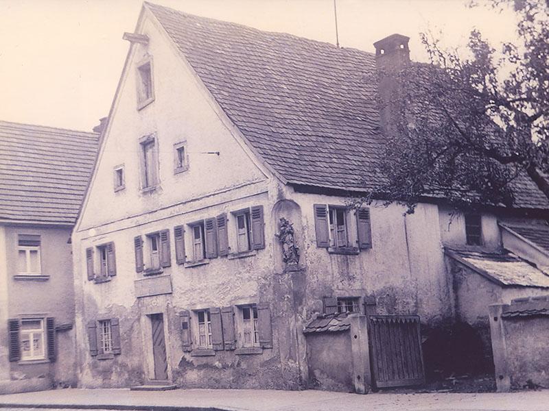 Die Bäckerei Specht im Jahre 1920
