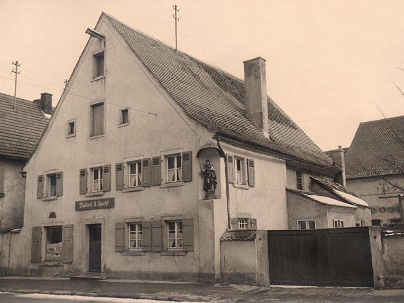Die Bäckerei Specht im Jahre 1932