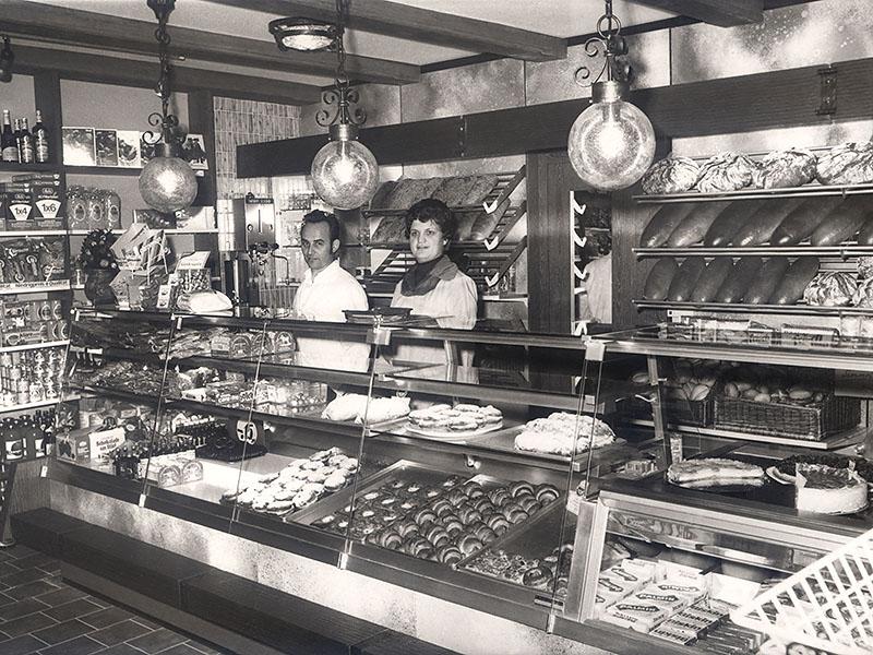 Die Bäckersleute Manfred und Irmtraud Specht