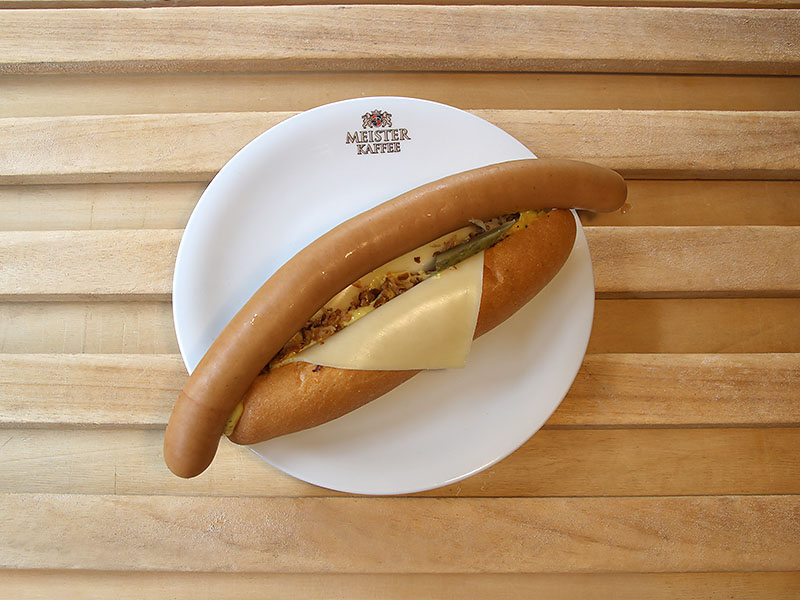 Hotdog Bockwurst